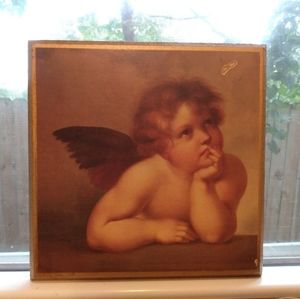 🍀Thoughtful Cherub Wall Hanging